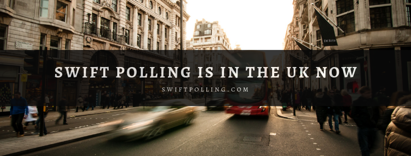 Swift Polling supports UK phone numbers